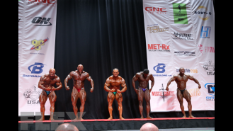 Men's Bodybuilding Light Heavyweight Awards  Gallery Thumbnail
