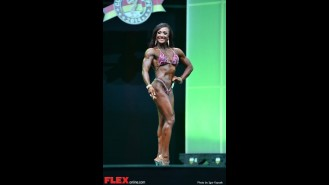 Tanji Johnson - 2014 IFBB Arnold Europe Gallery Thumbnail
