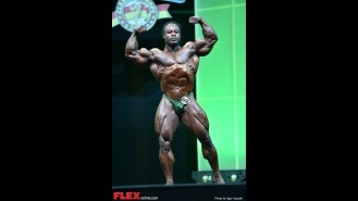 William Bonac - 2014 IFBB Arnold Europe Gallery Thumbnail
