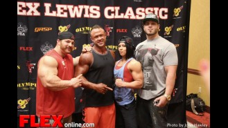 Check-Ins at the 2014 NPC Flex Lewis Classic Gallery Thumbnail