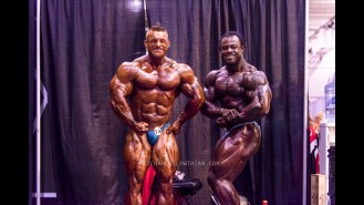Through the Lens of Charles Lowthian: 2014 Olympia Backstage, Part 1 Gallery Thumbnail