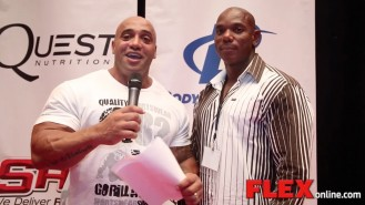 Dennis James and Flex Wheeler Wrap Up the 2014 NPC USAs Video Thumbnail