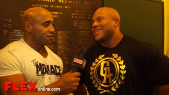 Dennis James Interviews Phil Heath at the Pittsburgh Pro Video Thumbnail