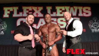Flex Lewis Classic Overall Champ, John Sanford Video Thumbnail