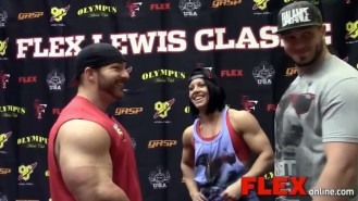 Behind the Scenes at the Flex Lewis Classic Check-Ins Video Thumbnail