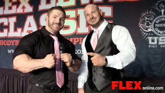 Flex Lewis and Sean Barber Wrap Up the Flex Lewis Classic Video Thumbnail