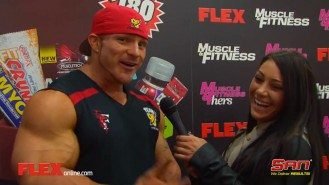 Arnold Expo Madness: Flex Lewis Video Thumbnail