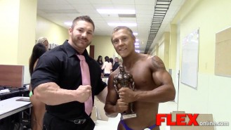 Flex Lewis Interviews Teen Champ Brandon VanNoord Video Thumbnail