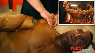 Jimmy Bluff Works His Magic on Guy Cisternino Before the NY Pro Video Thumbnail