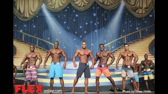 Comparisons - Men's Physique - 2014 IFBB Europa Phoenix Pro Gallery Thumbnail