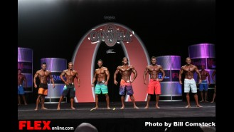 Comparison - Mens Physique Olympia - 2013 Mr. Olympia Gallery Thumbnail