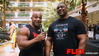 Dennis James Catches Up with IFBB Pro Quincy Taylor Video Thumbnail