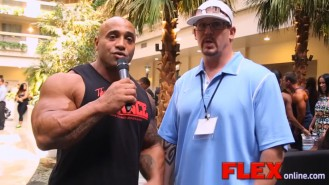 Dennis James Catches Up with IFBB Judge & Show Promoter Jack Titone Video Thumbnail