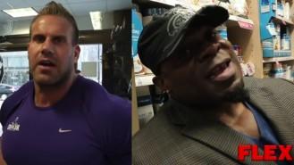 Jay Cutler and Kai Greene at the 2014 Pittsburgh Pro Video Thumbnail