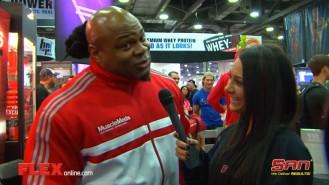Arnold Expo Madness: Kai Greene Video Thumbnail