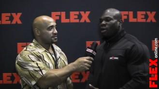DJ Interviews Lionel Beyeke at the '13 Mr. Olympia Prejudging Video Thumbnail