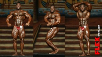 Lionel Beyeke's Posing Routine at the 2013 Dallas Europa Pro Video Thumbnail