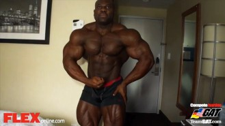 Lionel Beyeke 24 Hours Before the 2014 IFBB NY Pro! Video Thumbnail