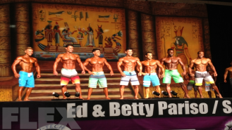 2013 IFBB Dallas Europa Super Show - Men's Physique 1st Call Outs Video Thumbnail
