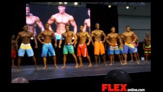 2014 IFBB Toronto Pro: Men's Physique Video Thumbnail