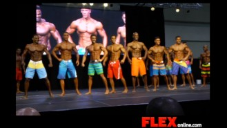 2014 IFBB Toronto Pro: Men's Physique Video Thumbnail