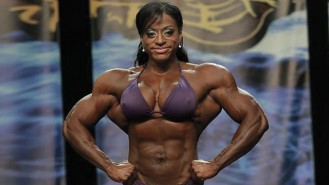 Monique Jones - Women's Bodybuilding - 2013 Chicago Pro Gallery Thumbnail