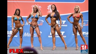 Comparisons - Bikini - 2014 IFBB Nordic Pro Gallery Thumbnail