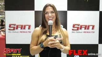 Oksana Grishina at the 2014 Arnold Brazil Expo Video Thumbnail