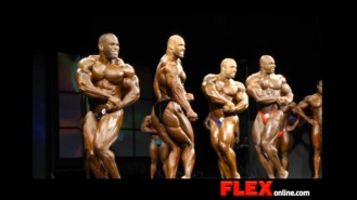 2014 IFBB Toronto Pro: Men's Open Bodybuilding Video Thumbnail