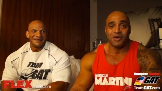 FLEX Exclusive: DJ & Big Ramy 24 Hrs Before the NY Pro! Video Thumbnail