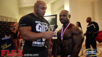 Marvin Ward After His 2nd Place Finish at the 2014 Tampa Pro Video Thumbnail