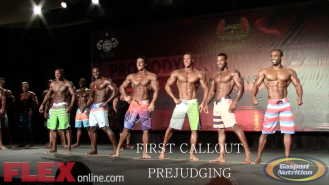 Prejudging Highlights Video: Men's Physique at the 2014 Tampa Pro Video Thumbnail