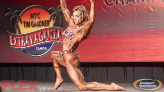 Highlights of the 2014 Tampa Pro Finals: Women's Bodybuilding Video Thumbnail
