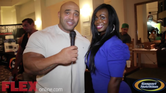 Dennis James Catches Up with IFBB Pro Dayana Cadeau Video Thumbnail