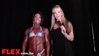 2014 Olympia: Shannon Dey Interviews Dana Linn Bailey Video Thumbnail