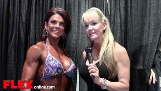 2014 Olympia: Shannon Dey Interviews Ann Titone Video Thumbnail