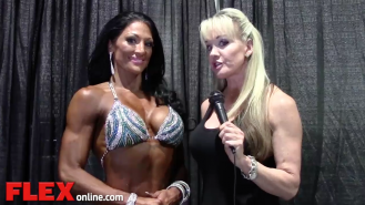 2014 Olympia: Shannon Dey Interviews Candice Keene Video Thumbnail