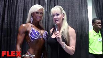 2014 Olympia: Shannon Dey Interviews Gennifer Strobo Video Thumbnail