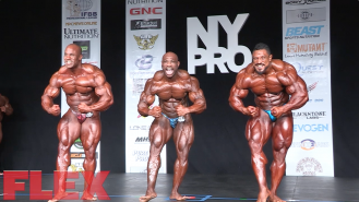2016 NY Pro Finals: Open Bodybuilding Posedown Video Thumbnail