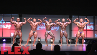 2016 Toronto Pro Prejudging: Open Bodybuilding Video Thumbnail