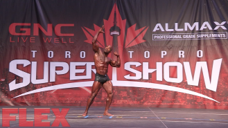 2016 Toronto Pro Classic Physique Routine: Darrem Charles Video Thumbnail