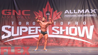 2016 Toronto Pro Classic Physique Routine: AJ Shukoori Video Thumbnail
