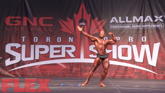 2016 Toronto Pro Classic Physique Routine: R.D. Caldwell, Jr. Video Thumbnail