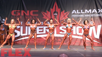 2016 Toronto Pro Prejudging: Women's Physique Video Thumbnail