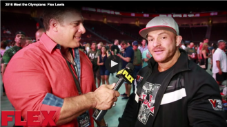 2016 Meet the Olympians: Flex Lewis Video Thumbnail