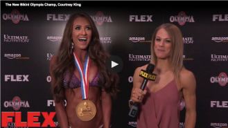 The New Bikini Olympia Champ, Courtney King Video Thumbnail