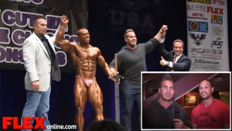 Jay Cutler and Mark Anthony Wrap Up the 2014 NPC Jay Cutler Baltimore Classic Video Thumbnail