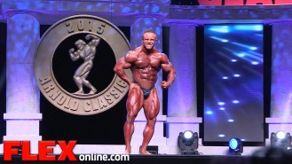 Aaron Clark's 2015 Arnold Classic 212 Posing Routine Video Thumbnail