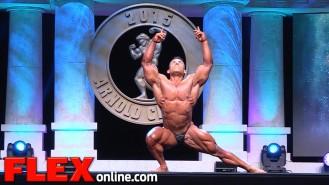 Angel Rangel Vargas' 2015 Arnold Classic 212 Posing Routine Video Thumbnail