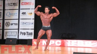 2016 IFBB Pittsburgh Pro Classic Physique Routine: Arash Rahbar Video Thumbnail